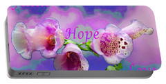 Faith-hope-love Portable Battery Charger