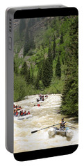 White Water Rafting On The Animas Portable Battery Charger