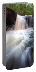 Portable Battery Charger featuring the photograph Fall And Splash by David Andersen