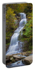 Fall At Cathedral Falls Portable Battery Charger