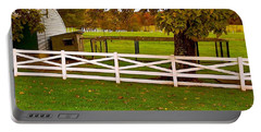 Fall At Eisenhower Farm Portable Battery Charger