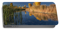 Fall At The Canal Portable Battery Charger