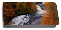 Fall At Triple Falls Portable Battery Charger