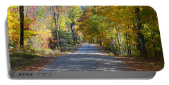 Fall Backroad Portable Battery Charger