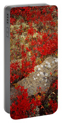 Fall Blueberries And Moss Portable Battery Charger