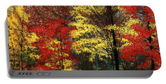 Fall Canopy Portable Battery Charger