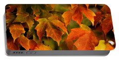 Fall Color Portable Battery Charger by Melissa Petrey