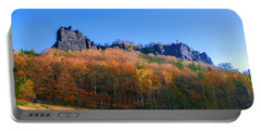 Fall Colors Around The Lilienstein Portable Battery Charger