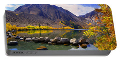 Fall Colors At Convict Lake  Portable Battery Charger