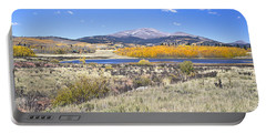 Fall Colors Fairplay Colorado Portable Battery Charger