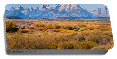 Fall Colors In The Tetons   Portable Battery Charger