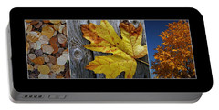 Fall Colors Triptych Portable Battery Charger