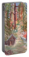 Fall Day Portable Battery Charger