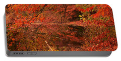 Fall Flavor Portable Battery Charger by Lourry Legarde