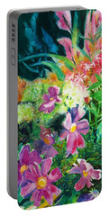Fall Floral Sweetness Portable Battery Charger