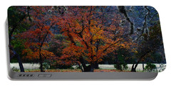 Fall Foliage At Lost Maples State Park  Portable Battery Charger