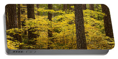 Fall Foliage Portable Battery Charger by Belinda Greb
