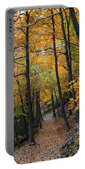Fall Foliage Colors 03 Portable Battery Charger