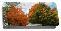 Fall Foliage Colors 09 Portable Battery Charger