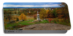 Fall In Gettysburg Portable Battery Charger