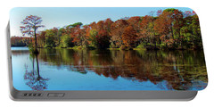 Fall In The Air Portable Battery Charger by Cynthia Guinn