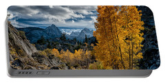Fall In The Eastern Sierra Portable Battery Charger