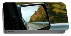 Fall In The Rearview Mirror Portable Battery Charger