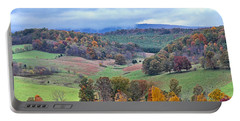 Fall In Virginia Portable Battery Charger by Denise Romano