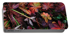 Fall Mix Portable Battery Charger by Janice Westerberg