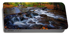 Fall On Fountain Creek Portable Battery Charger