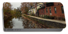 Fall On The Canal Portable Battery Charger