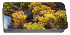 Portable Battery Charger featuring the photograph Fall On The Chama River by Roselynne Broussard