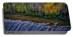 Fall Reflections At Tumwater Spillway Portable Battery Charger