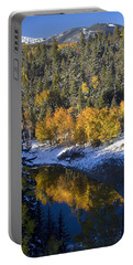 Fall Reflections On Bobcat Pass Portable Battery Charger