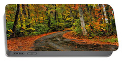 Fall Road To Glory Portable Battery Charger
