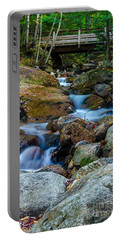Portable Battery Charger featuring the photograph Fall Scene In Nh by Mike Ste Marie