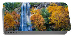 Fall Silver Falls Portable Battery Charger