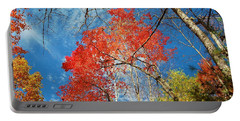 Portable Battery Charger featuring the photograph Fall Sky by Patrick Shupert