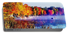 Portable Battery Charger featuring the photograph Fall Splendor Of Mid-michigan by Daniel Thompson