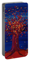 Fall Tree Fantasy By Jrr Portable Battery Charger