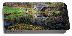 Fallen Leaves At Mabry Mill Portable Battery Charger