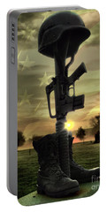 Fallen Soldiers Memorial Portable Battery Charger