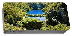 Falling Lakes Of Plitvice National Park Portable Battery Charger