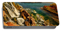 Portable Battery Charger featuring the photograph Falls Creek Waterfall by Greg Norrell