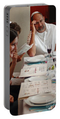 Family Around The Sedder Table Portable Battery Charger