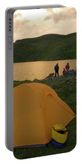 Family Camping At Highland Mary Lake Portable Battery Charger
