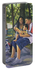 Family In The Park Portable Battery Charger