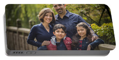 Family Portrait On Bridge - 1 Portable Battery Charger