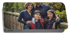 Family Portrait On Bridge - 2 Portable Battery Charger