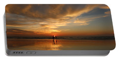 Family Reflections At Sunset - 2 Portable Battery Charger